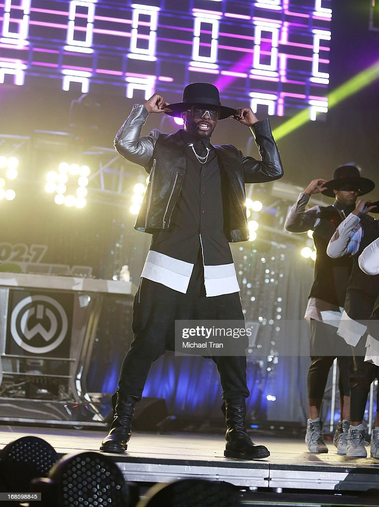 will.i.am performs onstage during the 2013 KIIS FM's Wango Tango held at The Home Depot Center on May 11, 2013 in Carson, California.