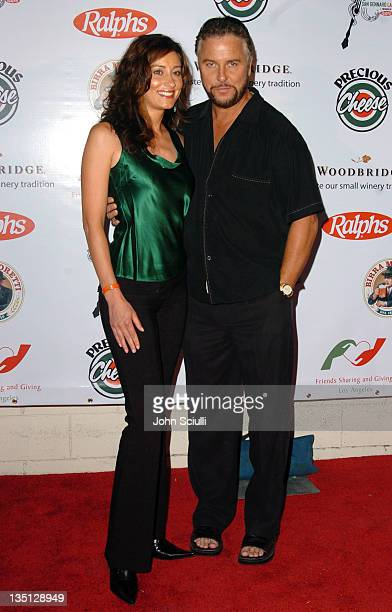 William Petersen and Gina Cirone during 3rd Annual 'Feast of San Gennaro LA' Gala 'Prima Notte' at Grove Drive in Los Angeles California United States