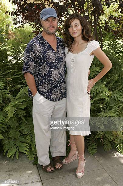 William Petersen and Gina CironePeterson during Hancock Park Historic Preservation Benefit Block Party at Hancock Park in Los Angeles California...