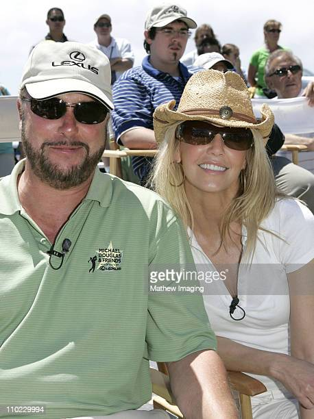 William Petersen and Heather Locklear during The 7th Annual Michael Douglas Friends Celebrity Golf Tournament Presented by Lexus at Cascata Golf...