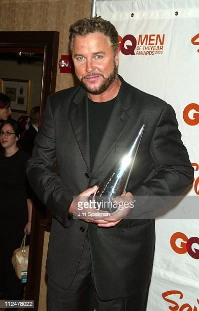 William Petersen during Spike TV Presents the 2003 GQ Men of the Year Awards Press Room at The Regent Wall Street in New York City New York United...