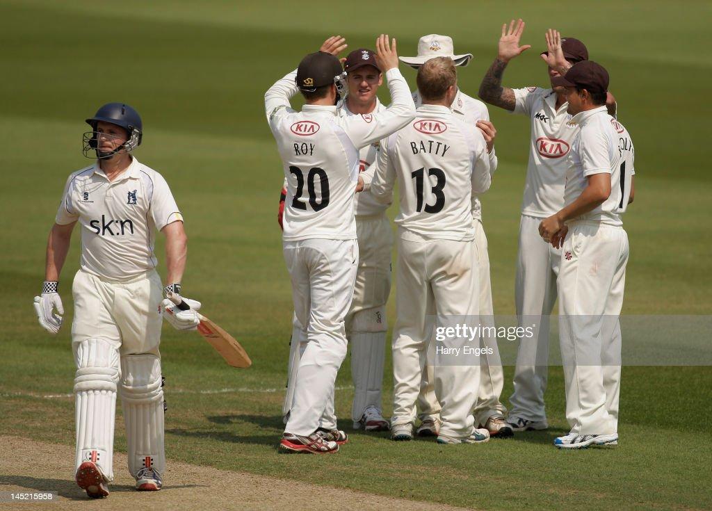 Surrey v Warwickshire - LV County Championship
