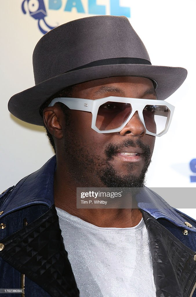 Will.i.am poses in the Media Room at the Capital Summertime Ball at Wembley Arena on June 9, 2013 in London, England.