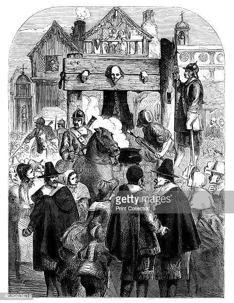 William Prynne in the pillory c1902 From Cassell's Illustrated History of England' volume III