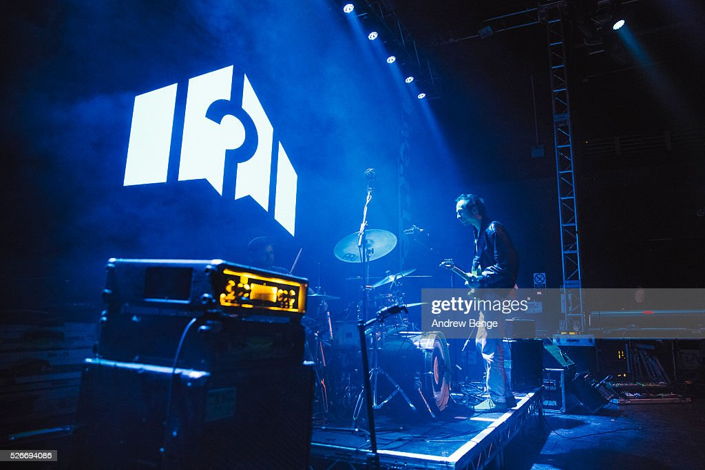 William Rees of Mystery Jets performs at O2 Academy during Live At Leeds on April 30, 2016 in Leeds, England.