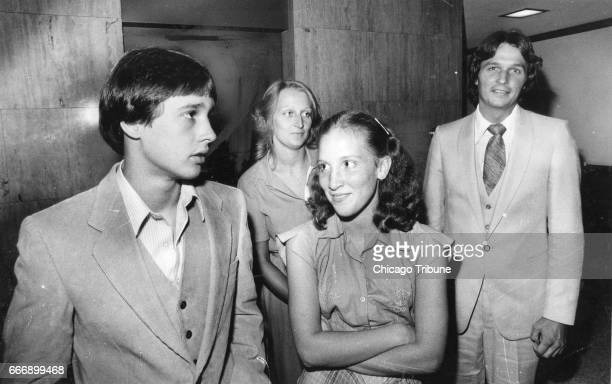 William Rouse left and Robin Rouse leave court after appearing before the Lake County Grand Jury in Waukegan Ill on Monday July 21 1980 The children...