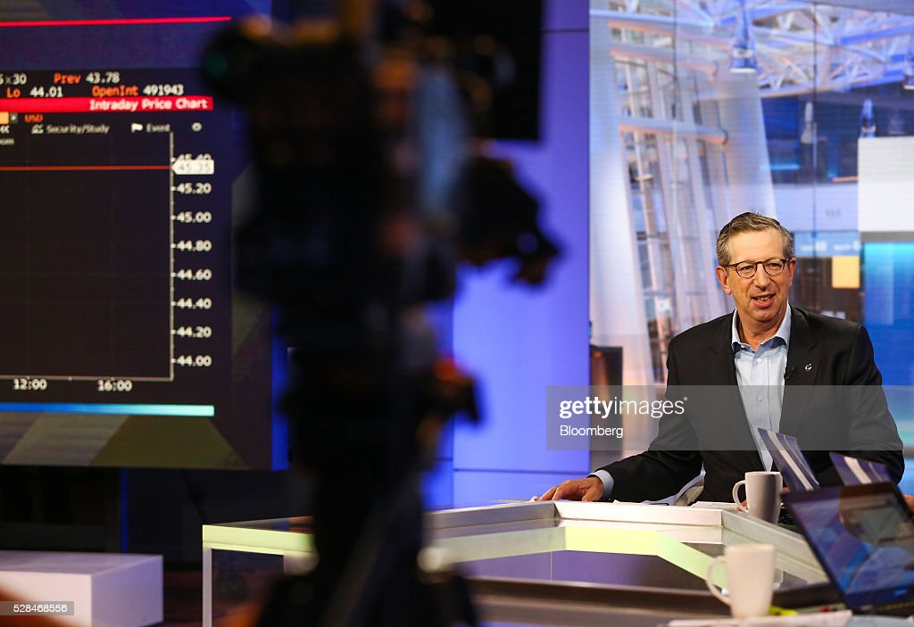William Rudin, chairman of the Real Estate Roundtable, speaks during a Bloomberg Television interview in New York, U.S., on Thursday, May 5, 2016. Rudin discussed the New York real estate market and whether job creation and salary levels are strong enough to support all the offices and apartments developers are building. Photographer: Chris Goodney/Bloomberg via Getty Images