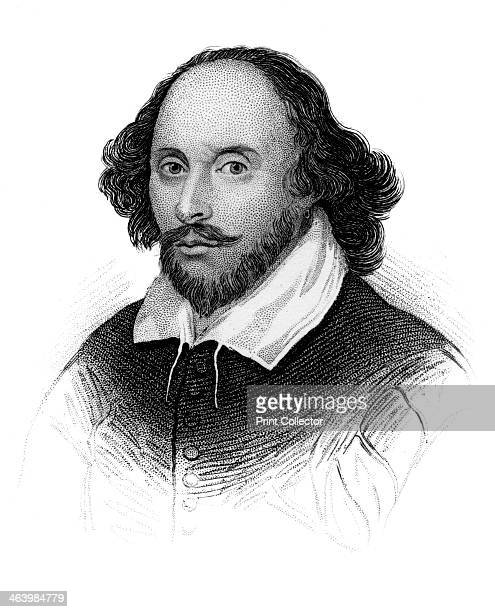 William Shakespeare English poet and playwright Portrait of Shakespeare widely regarded as the greatest writer of the English language Taken from the...