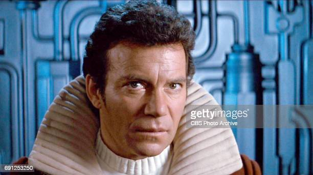 William Shatner as Admiral James T Kirk in the movie 'Star Trek II The Wrath of Khan' Release date June 4 1982 Image is a screen grab