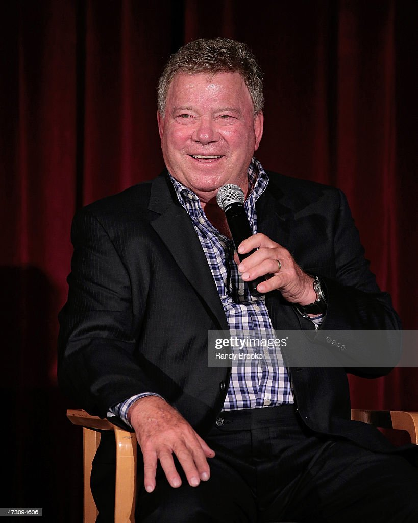 William Shatner attends the 2015 New York City International Film Festival screening of 'Chaos On The Bridge' at DGA Theater on May 1 2015 in New...