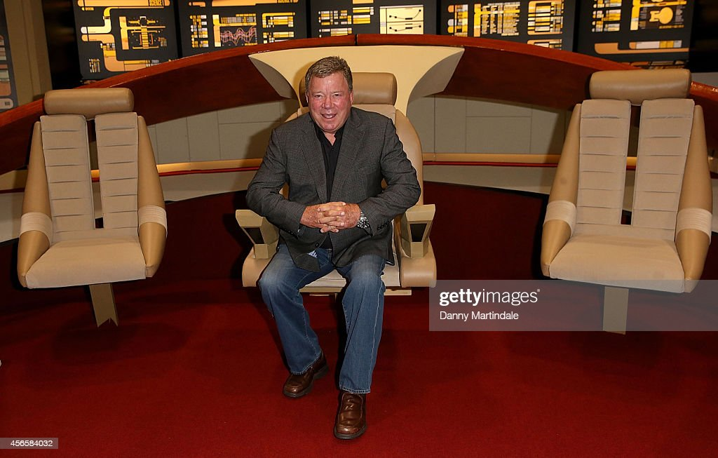 William Shatner attends the Destination Star Trek event at ExCel on October 3 2014 in London England