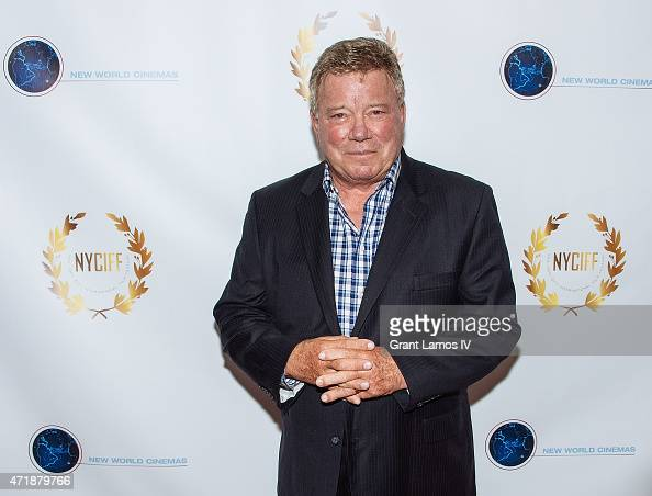 William Shatner attends the New York City International Film Festival screening of 'Chaos On The Bridge' at DGA Theater on May 1 2015 in New York City