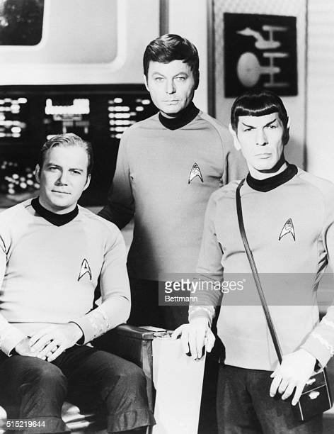 William Shatner DeFrost Kelley and Leonard Nimoy went 200 years into the future each week on 'Star Trek' the innovative series which remains a cult...