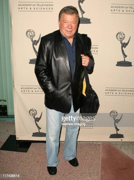 William Shatner during Academy of Television Arts Sciences An Evening with 'Boston Legal' at Leonard H Goldenson Theater in North Hollywood...