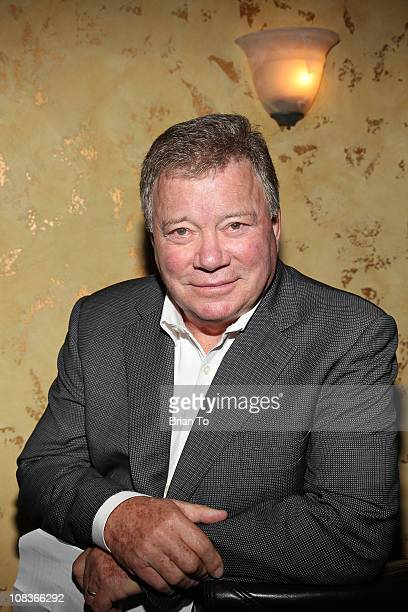 William Shatner hosts gifting ceremony for Hollywood charity horse show at Firenze Osteria on January 26 2011 in Toluca Lake California