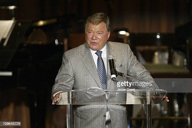 William Shatner Inductee into The Academy of Television Arts and Sciences Hall of Fame