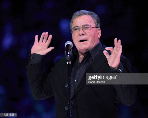 William Shatner on stage during the 2012 JUNO Awards Show at Scotiabank Place on April 1 2012 in Ottawa Canada