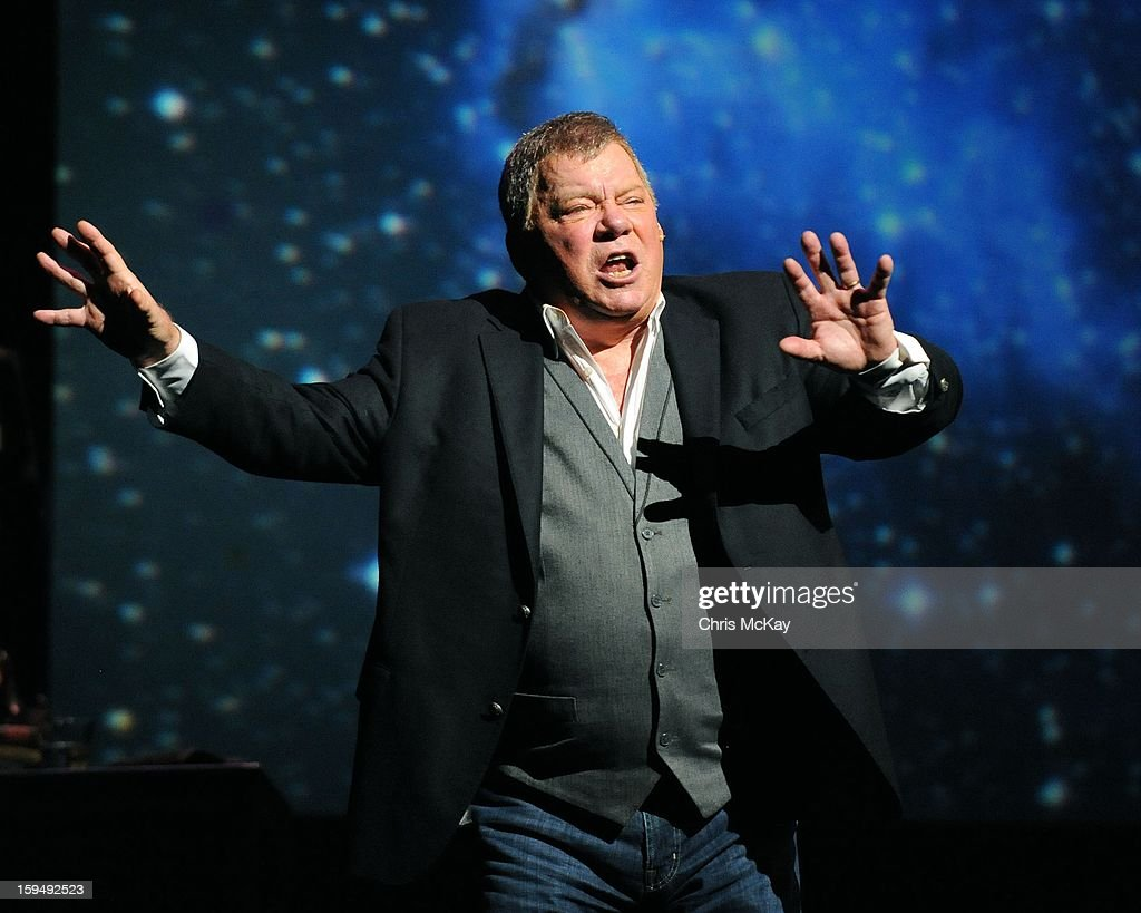 <a gi-track='captionPersonalityLinkClicked' href=/galleries/search?phrase=William+Shatner&family=editorial&specificpeople=202461 ng-click='$event.stopPropagation()'>William Shatner</a> performs at Cobb Energy Centre on January 13, 2013 in Atlanta, Georgia.