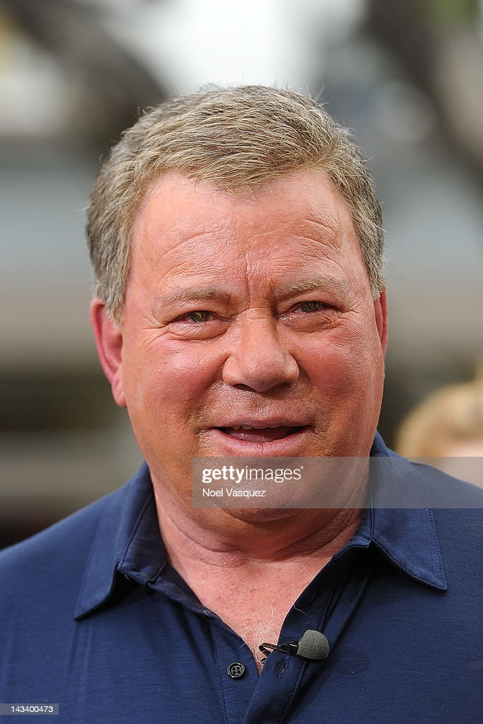 <a gi-track='captionPersonalityLinkClicked' href=/galleries/search?phrase=William+Shatner&family=editorial&specificpeople=202461 ng-click='$event.stopPropagation()'>William Shatner</a> visits 'Extra' at The Grove on April 25, 2012 in Los Angeles, California.