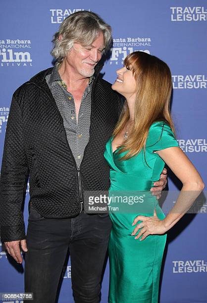 William Shockley and Jane Seymour arrive at the Virtuoso's Award during The 31st Santa Barbara International Film Festival held at Arlington Theatre...