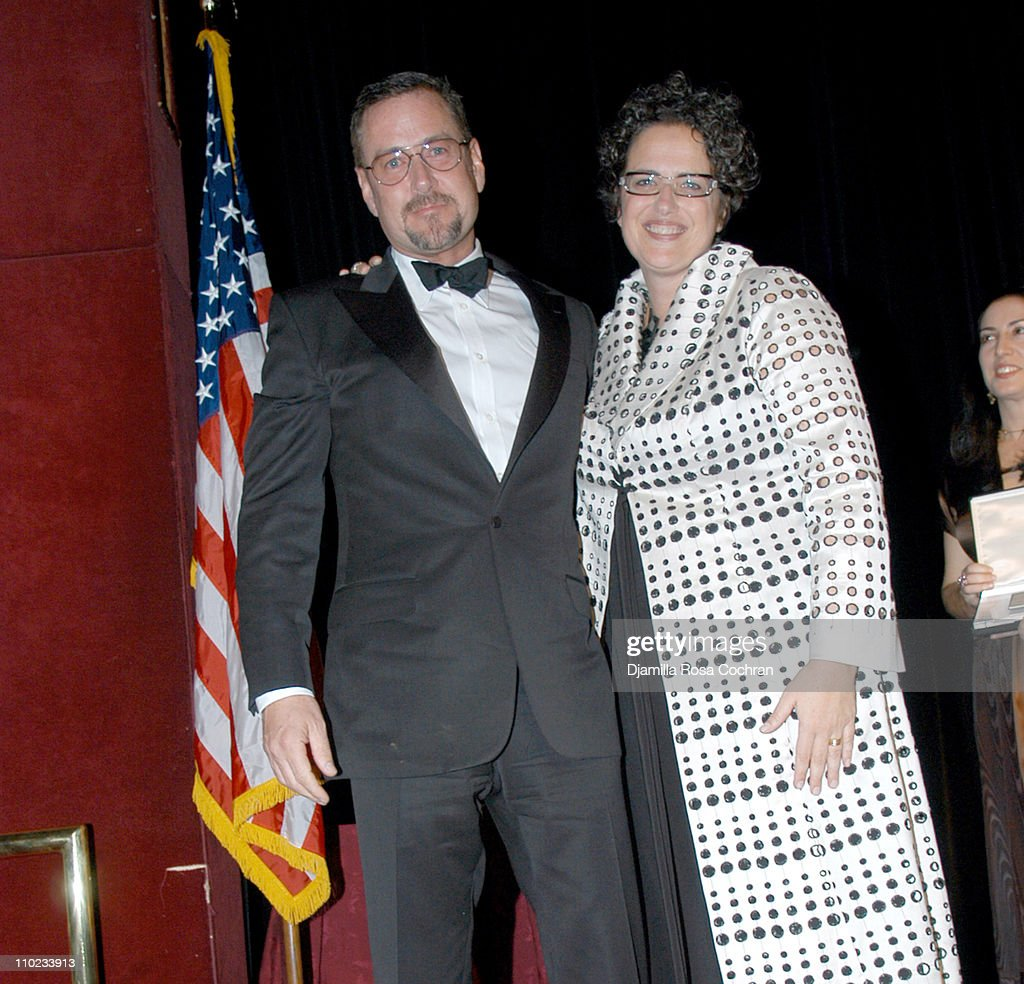 William Sofield And Cindy Allen During Interior Design Magazine Hall Of Fame At Waldorf Astoria Hotel