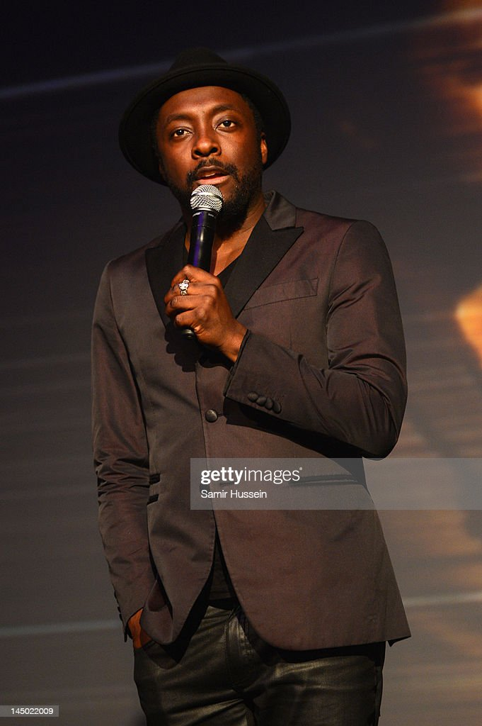 will.i.am speaks at 'A Night Out With The Millennium Network,' at the Old Vic Tunnels, presented by The Clinton Foundations and The Reuben Foundation. The evening, hosted by Bill Clinton, Chelsea Clinton, Gwyneth Paltrow and Will i Am took place on the 22nd May 2012 in London, England.