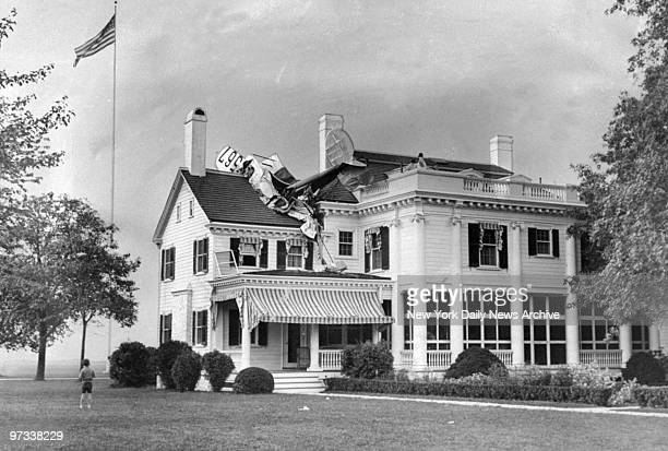 William Taft president of the Red Bank Flying Club and two companions were in a plane that crashed into the roof of New Jersey Gov Morgan Larson's...