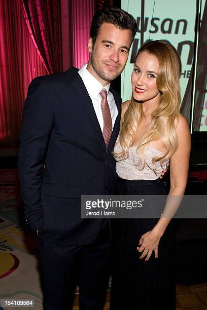 William Tell and Lauren Conrad attend 'Designs For The Cure' Gala For Susan G Komen at the Millennium Biltmore Hotel on October 13 2012 in Los...