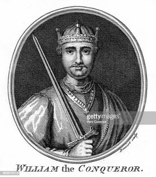 William the Conqueror Portrait of William I of England also known as William the Conqueror who ruled from 1066 until his death