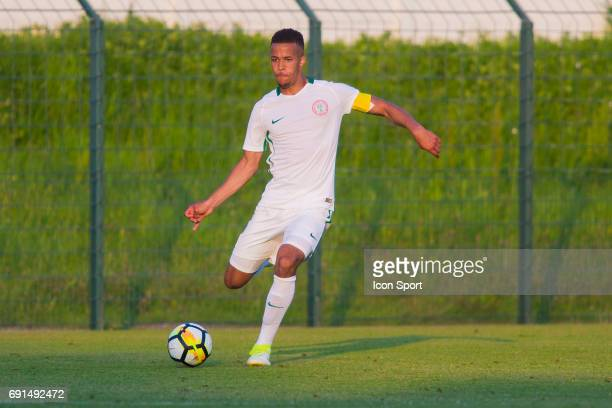 William TroostEkong of Nigeria during the soccer friendly match between Nigeria and Togo on June 1 2017 in St LeulaForet France