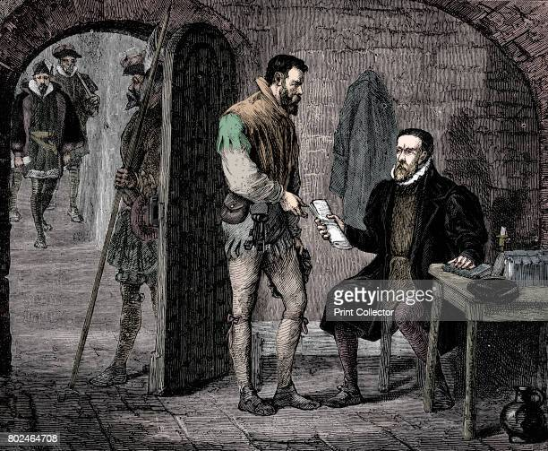 William Tyndale English translator 1536 English translator of the Bible on morning of his death giving jailer packet for John Rogers thought to have...