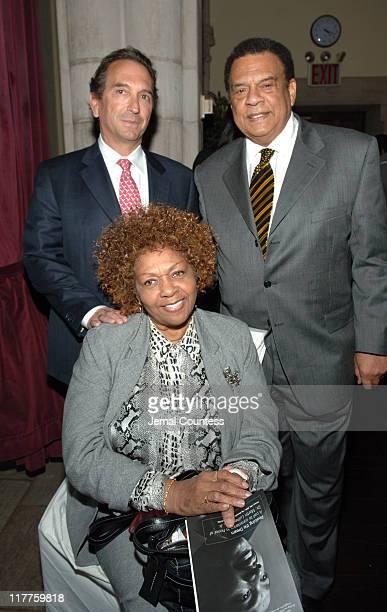 William Wachtel Ambassador Andrew Young and Cissy Houston