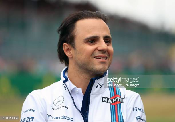 Williams' Felipe Massa during Paddock Day of the 2017 British Grand Prix at Silverstone Circuit Towcester