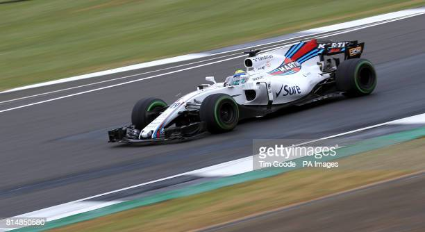 Williams' Felipe Massa during qualifying for the 2017 British Grand Prix at Silverstone Circuit Towcester