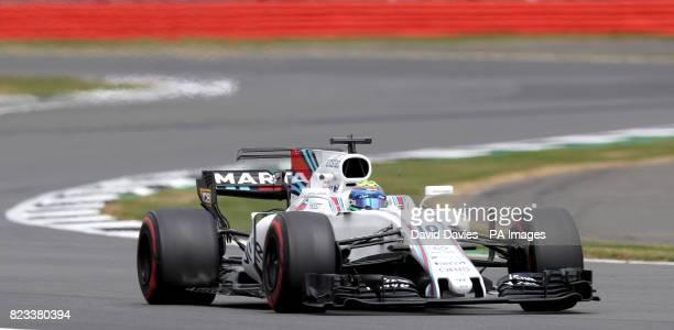 Williams Felipe Massa during second practice of the 2017 British Grand Prix at Silverstone Circuit Towcester