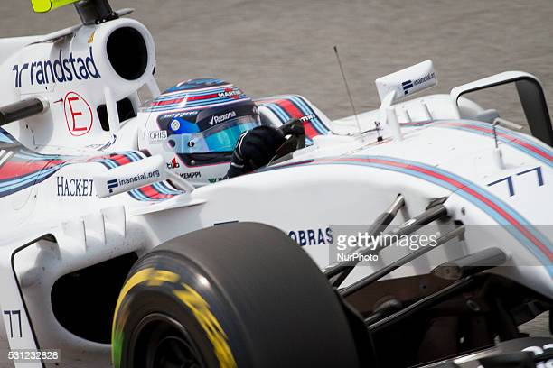 Williams Martini's Valteri Bottas during the free training sessions of GP of Spain of Formula 1 played at Circuit de Catalunya in Montmel�� Spain on...
