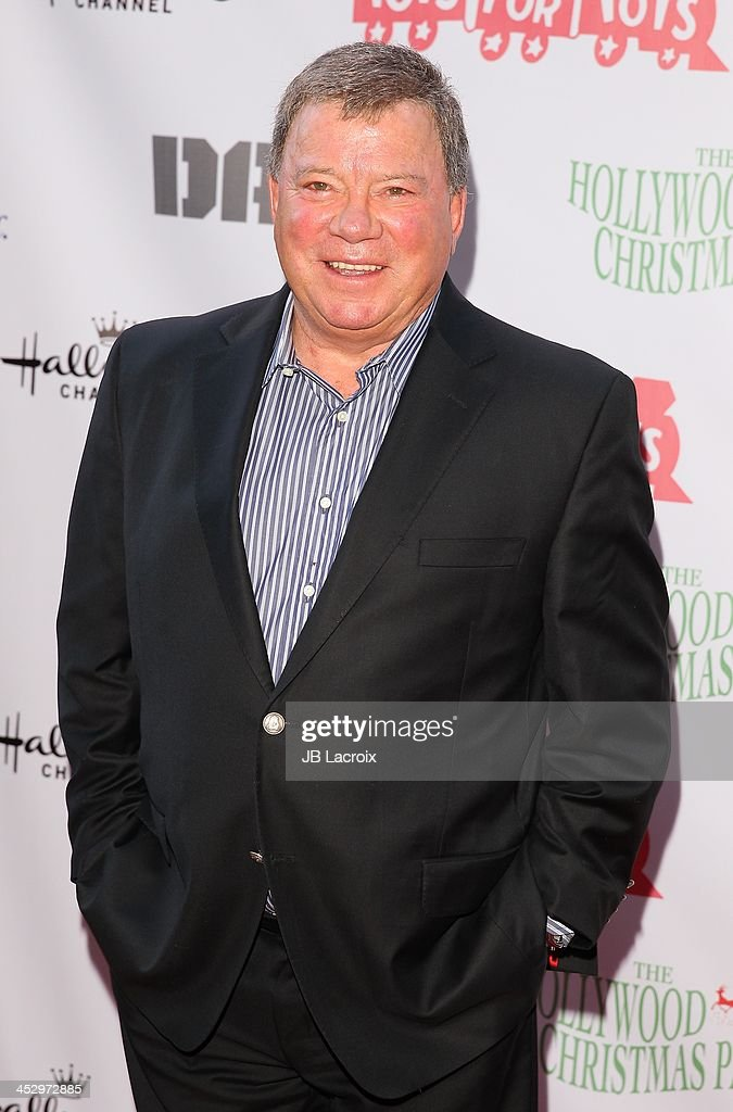 Williams Shatner attends the Hollywood Christmas Parade benefiting Toys For Tots foundation on December 1, 2013 in Hollywood, California.