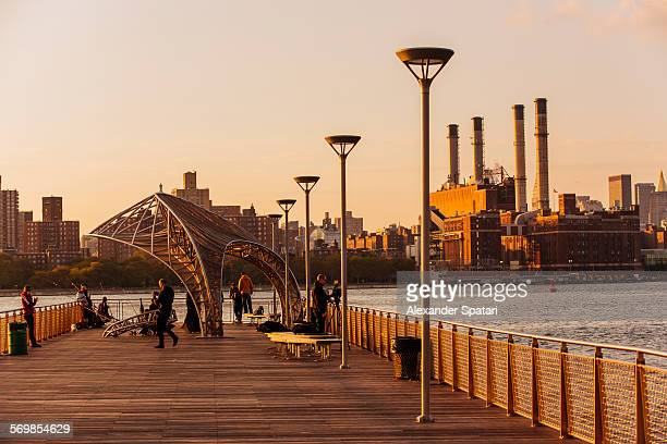 Williamsburg pier, Brooklyn, New York City, USA