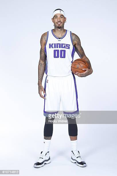 Willie CauleyStein of the Sacramento Kings poses for a portrait on NBA media day on September 26 2016 at the Kings practice facility in Sacramento...