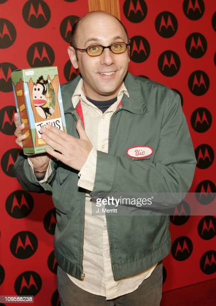 Willie Garson during LL Cool J Performs at the Motorola Sixth Anniversary Party to Benefit Toys for Tots Arrivals at Music Box Theatre in Hollywood...