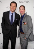Willie Geist and Aaron Mankin attend the 2012 GQ Gentlemen's Ball presented by LG Movado and Nautica on October 24 2012 in New York City