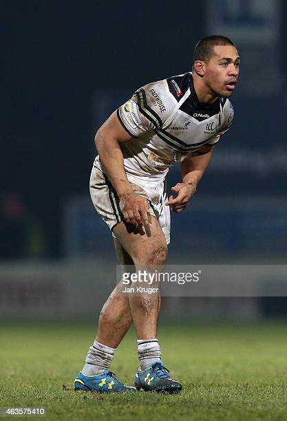Willie Isa of Widnes Vikings looks on during the First Utility Super League match between Leeds Rhinos and Widnes Vikings at Headingley Carnegie...