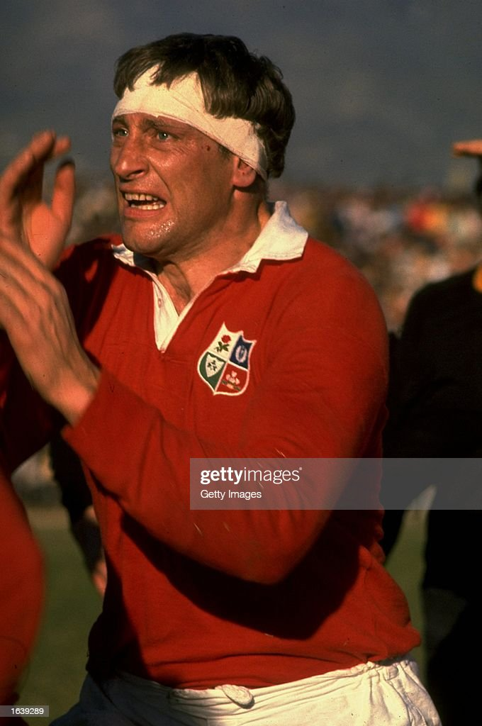 Willie John McBride of the British Lions in action during the Rugby Lions tour of South Africa South Africa Mandatory Credit Allsport UK /Allsport