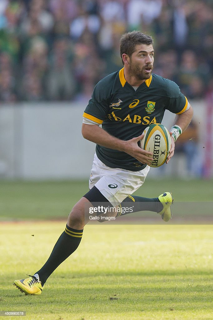Willie le Roux of South Africa during the 2nd test match between South Africa and Wales at Mbombela Stadium on June 21, 2014 in Nelspruit, South Africa.