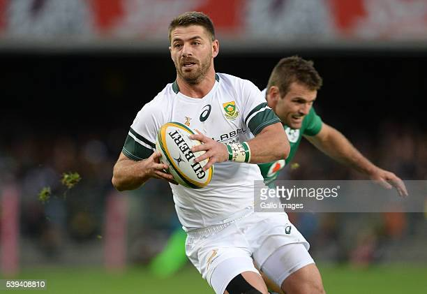 Willie le Roux of the Springboks in action during the 1st Castle Lager Incoming Series Test match between South Africa and Ireland at DHL Newlands...