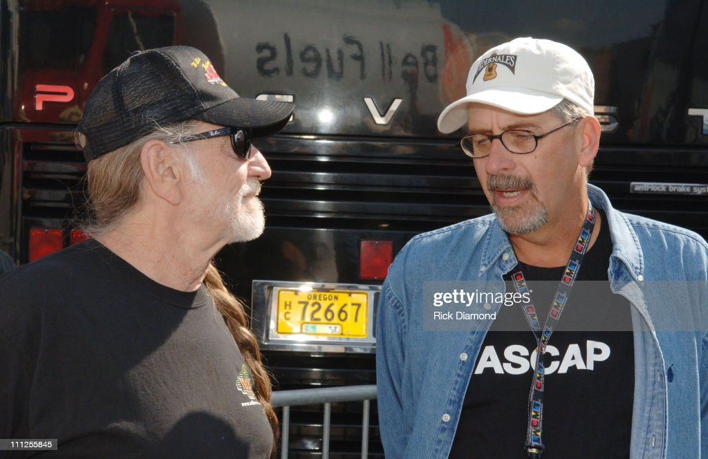 Willie Nelson and Herky Williams, ASCAP during FARM AID 2005 Presented by SILK Soymilk at Tweeter Center in Tinley Park, Illinois, United States.