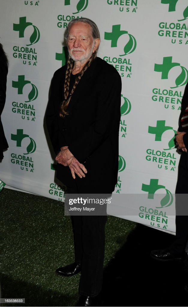 <a gi-track='captionPersonalityLinkClicked' href=/galleries/search?phrase=Willie+Nelson&family=editorial&specificpeople=203154 ng-click='$event.stopPropagation()'>Willie Nelson</a> arrives at Global Green USA's 10th Annual Pre-Oscar party at Avalon on February 20, 2013 in Hollywood, California.