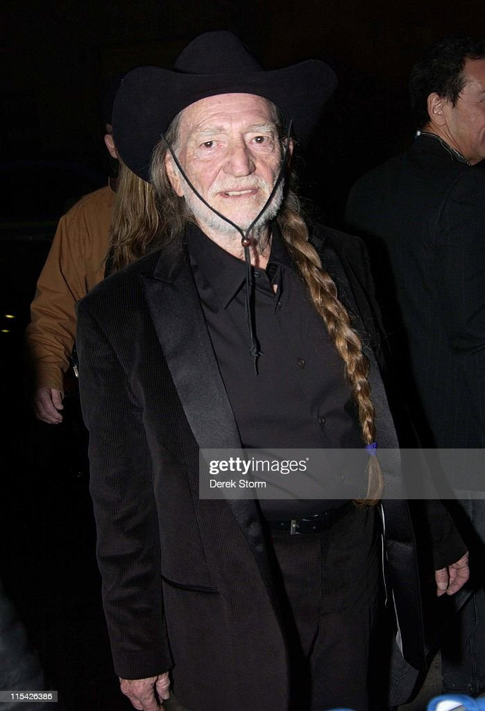 "Willie Nelson and Ray Romano Visit ""Late Show with David Letterman"" - March 28,"