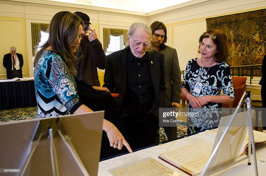 2015 Gershwin Prize Luncheon Honoring Willie Nelson