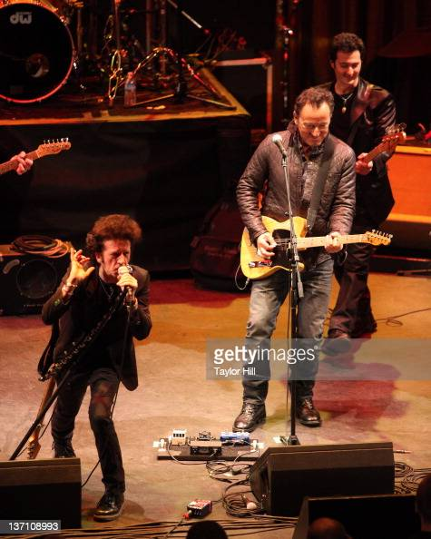 Willie Nile and Bruce Springsteen...